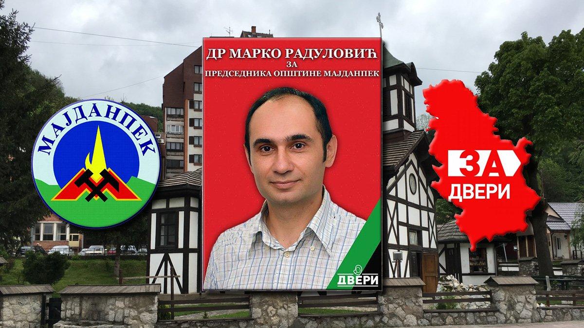 Proglašena lista Dveri za izbore u Majdanpeku
