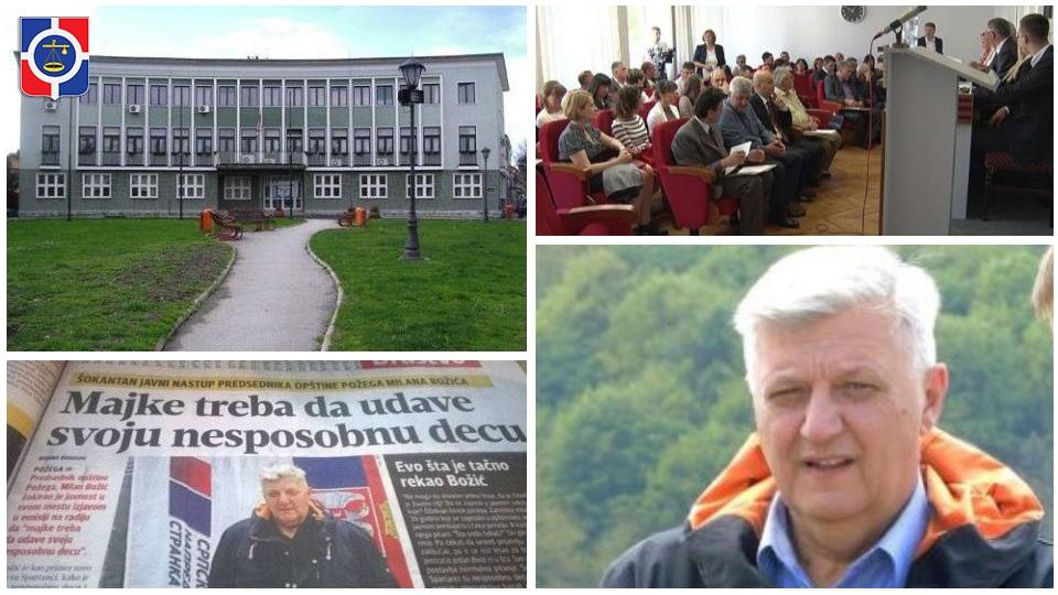 Ljuti zbog uspeha tribine Saveza za Srbiju naprednjaci napravili haos na sednici Skupštine u Požegi