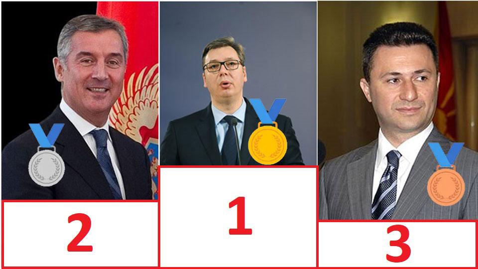 Boško Obradović: Vučić veći autokrata od Đukanovića i Gruevskog