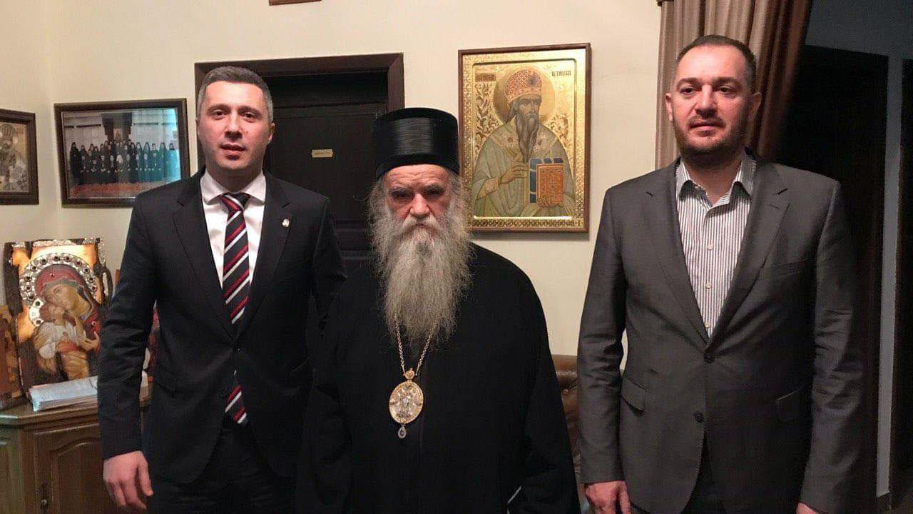 Obradović: Reči mitropolita Amfilohija smetaju onima koji se spremaju da priznaju nezavisnost lažne države Kosovo