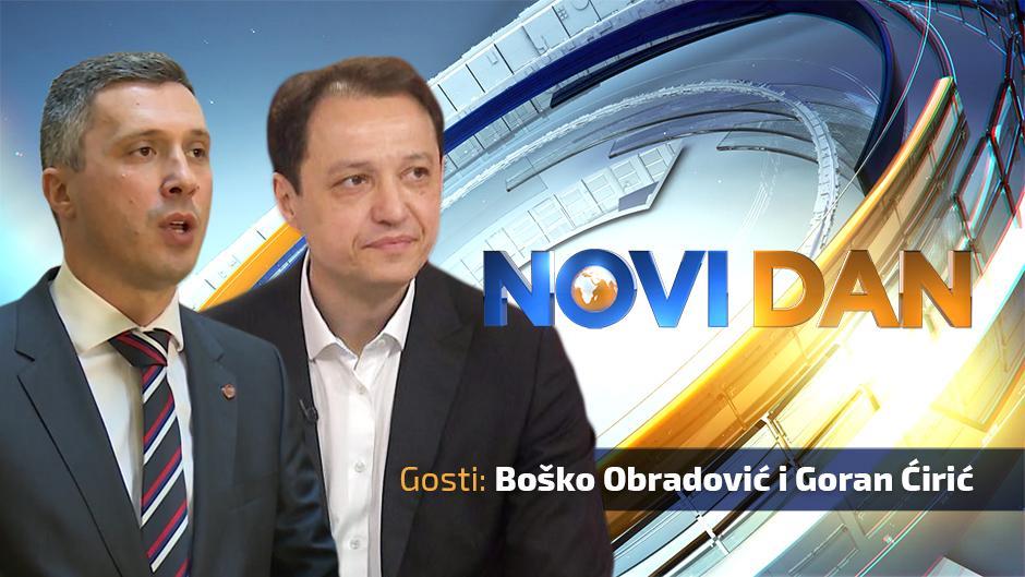 Boško Obradović i Goran Ćirić gosti Novog dana