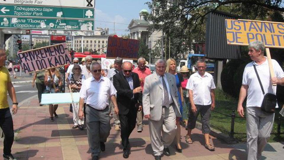 Poslanici Dveri podržali zahtev za ocenu ustavnosti zakona o penzijama