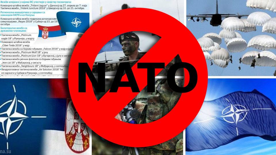 "Hvala za prvu bombu, NATO – ""Srbija 2018"""