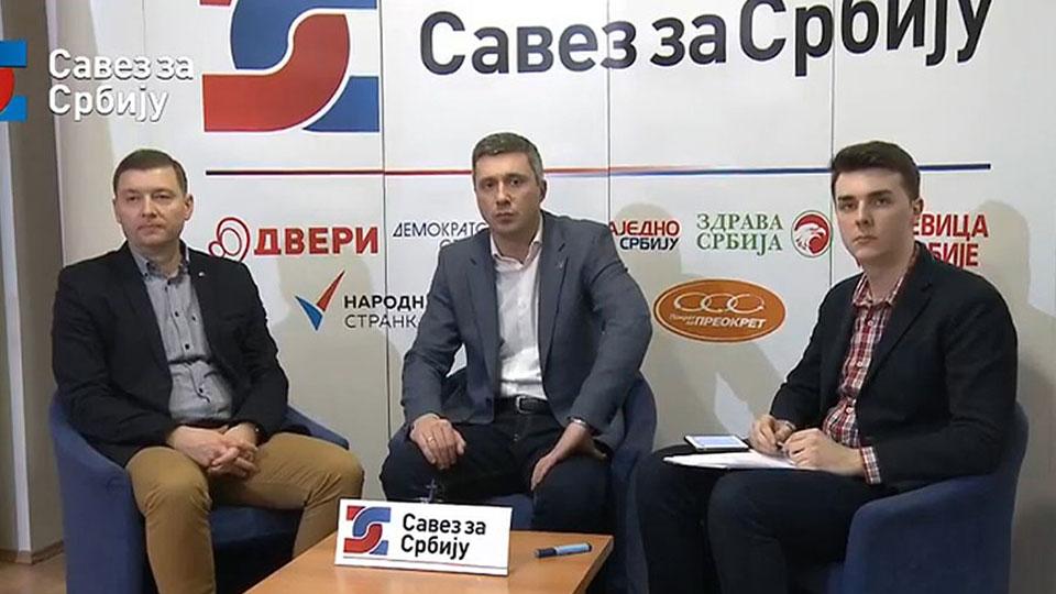 Obradović i Zelenović o Sporazumu sa narodom i Asocijaciji slobodnih odbornika