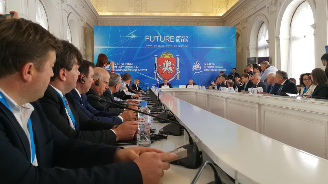 Boško Obradović na Jalti: Krim je Rusija, Kosovo je Srbija