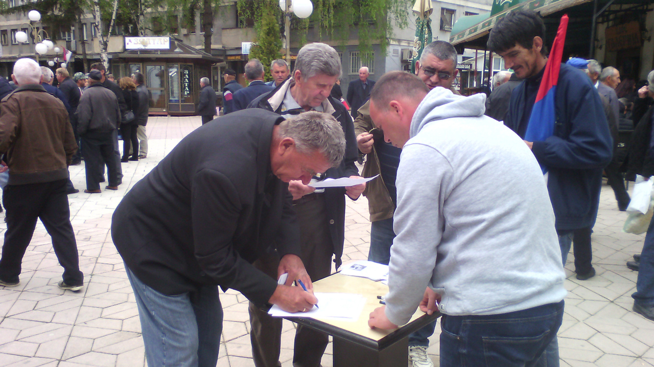 Dveri predale Peticiju protiv naseljavanja migranata u opštini Aleksandrovac