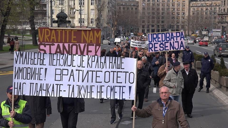 Udruženje sindikata penzionisanih vojnih lica Srbije: Od pljačke penzionera nema bežanja