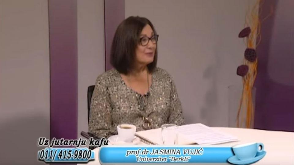 Prof. dr Jasmina Vujić, TV Naša, Uz jutarnju kafu, 18.09.2019.