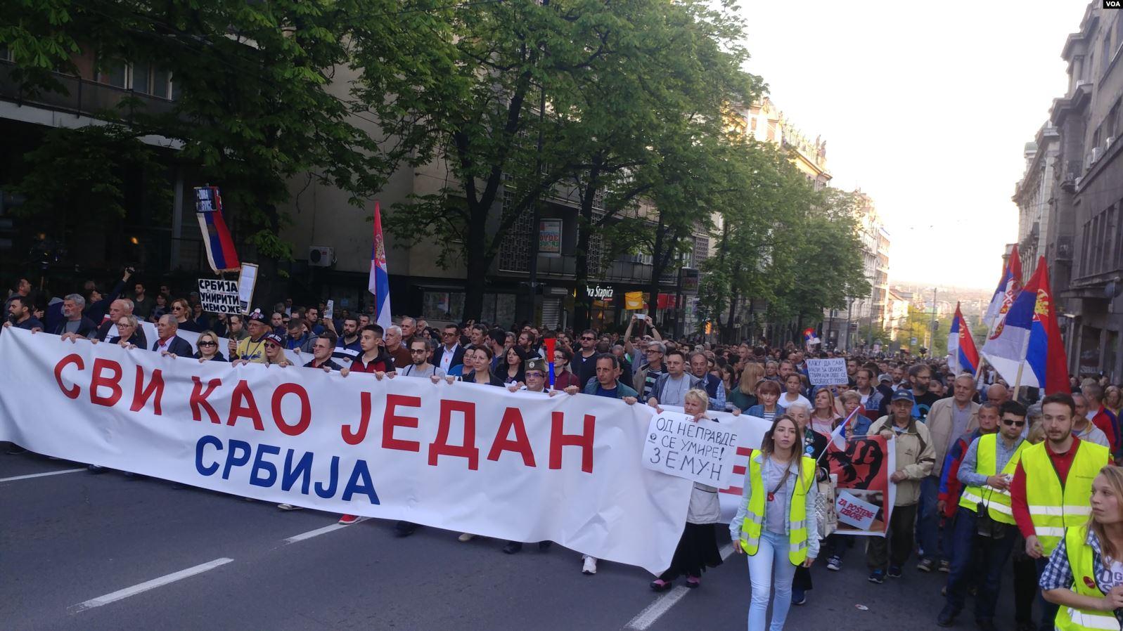 Šest meseci od početka protesta obeležiće protesti širom Srbije
