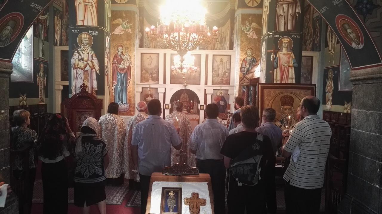 Parastos za pokoj duši Dragoljubu Draži Mihailoviću u Prijepolju