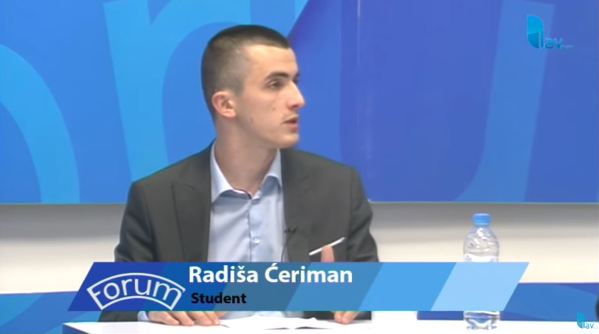 Radiša Ćeriman u emisiji Forum na TV Lav