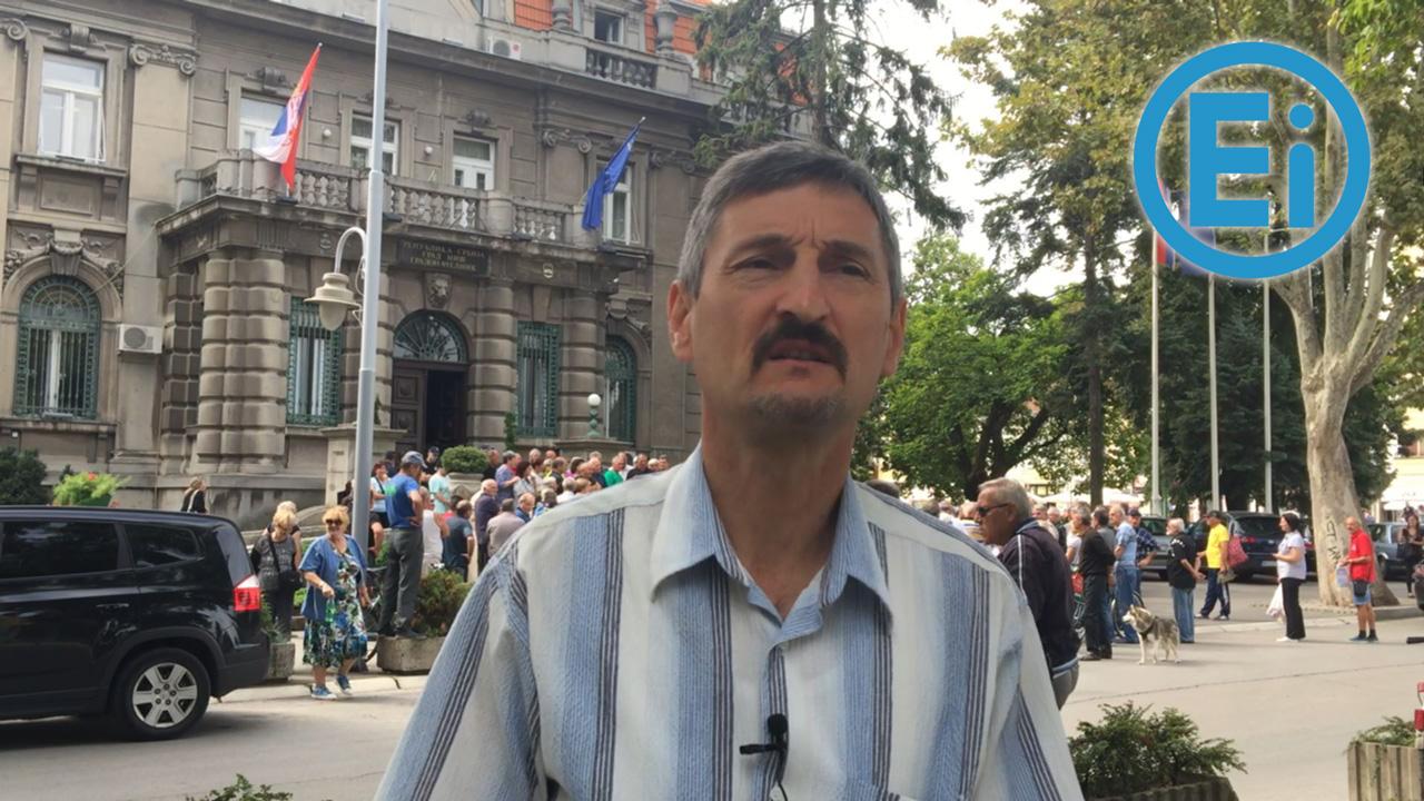 "Podrška bivših radnika ""EI Niš"" protestu ispred Vlade 16. septembra u 16 časova"