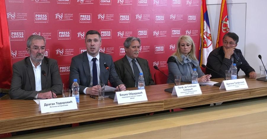 Radna grupa za KiM: Potrebno je podići glas protiv priznanja nezavisnosti Kosova