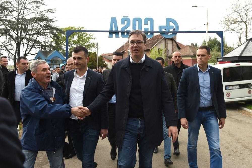 "Dveri: Stečaj Fabrike šinskih vozila ""Goša"" je još jedan dokaz prevare i promašene politike SNS"
