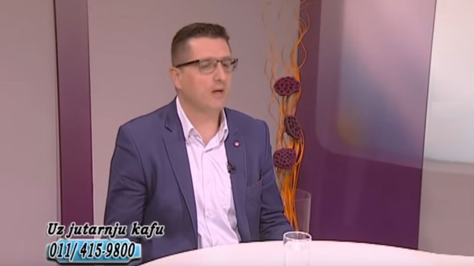"Radoš Pejović TV Naša, ""Uz jutarnju kafu"", 26. feb. 2019."