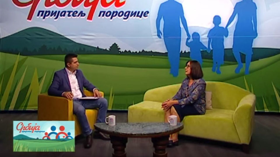 """Radoš Pejović i Jasmina Vujić – """"Srbija, prijatelj porodice"""", 19.09.2019."""