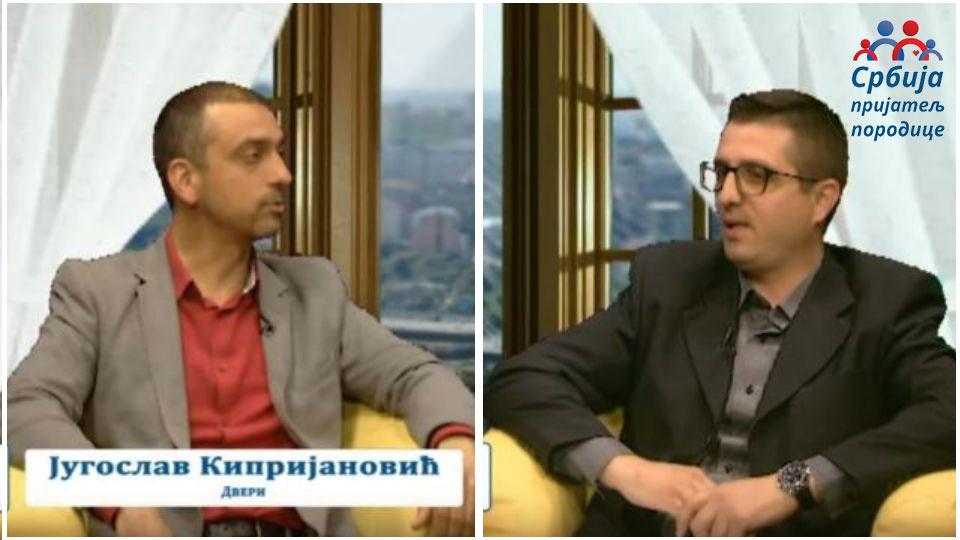"""Radoš Pejović i Jugoslav Kiprijanović – emisija """"Srbija – prijatelj porodice"""""""