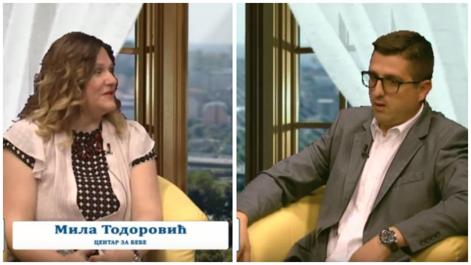 """Radoš Pejović i Mila Todorović – emisija """"Srbija – prijatelj porodice"""""""