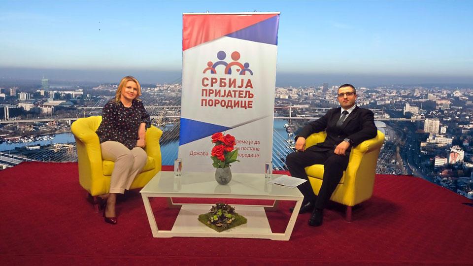 """Emisija """"Srbija - prijatelj porodice"""": Radoš Pejović i Ksenija Mirković"""