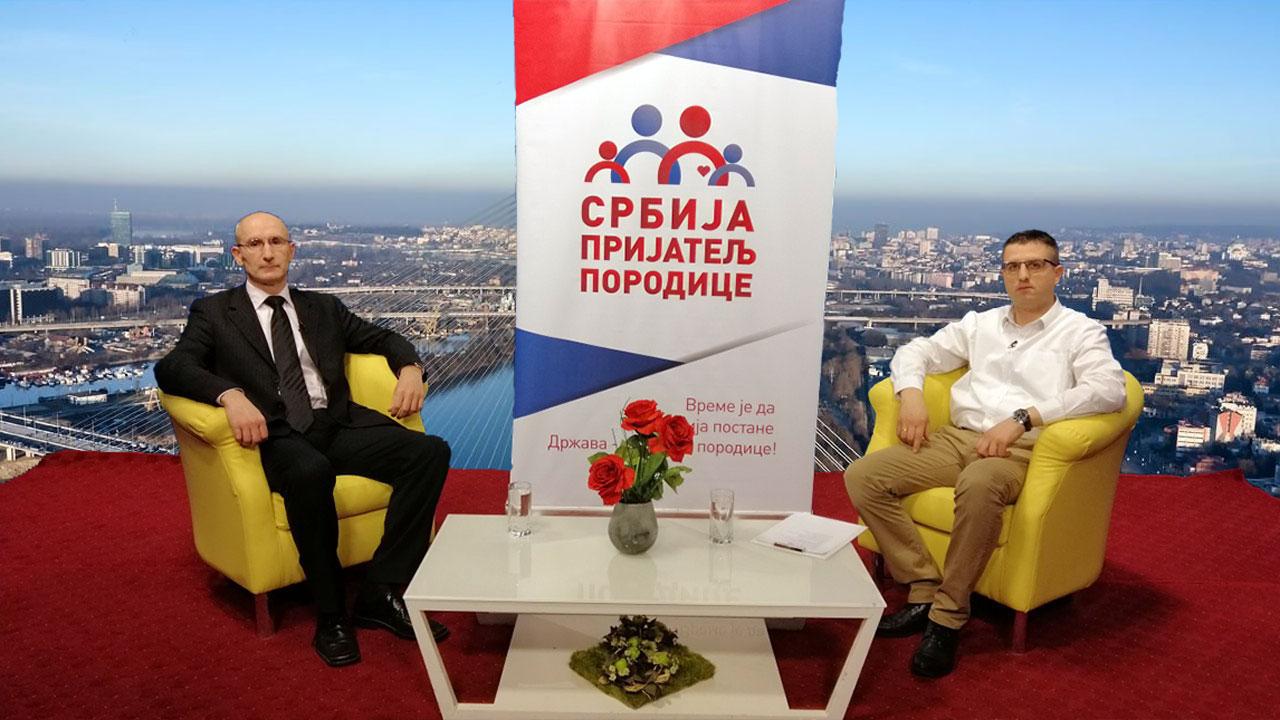 """Emisija """"Srbija - prijatelj porodice"""": Radoš Pejović i Miša Đurković"""