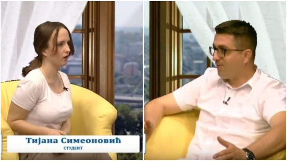 """Radoš Pejović i Tijana Simeonović – emisija """"Srbija – prijatelj porodice"""""""
