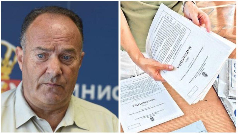 Obradović: Šarčević da podnese ostavku zbog curenja testova