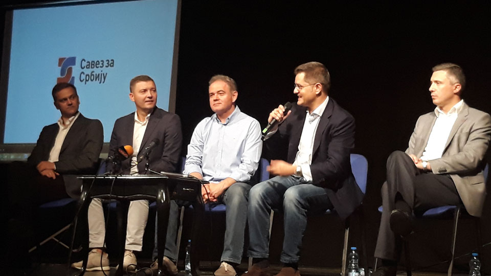 Savez za Srbiju - U Srbiji je stvorena alternativa vlasti