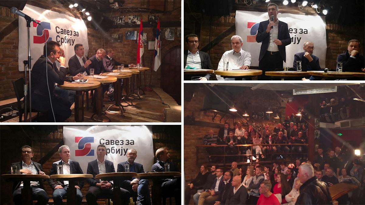 Savez za Srbiju i pored opstrukcija predstavio svoj program u Pančevu