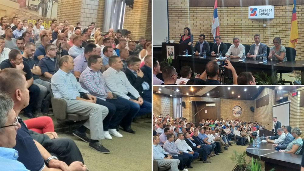 Savez za Srbiju u Vranju: Zaustaviti depopulaciju juga Srbije