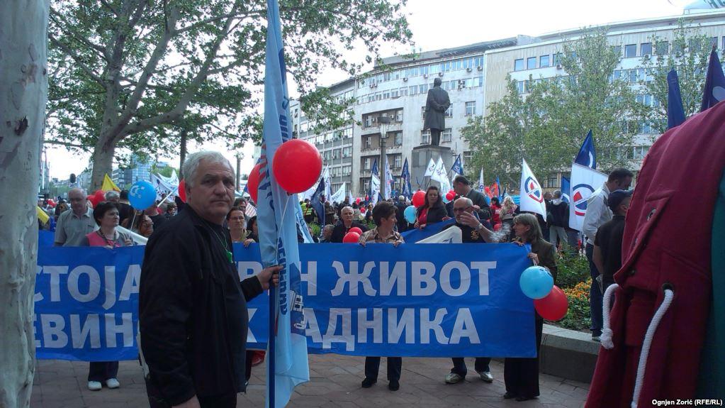 Ovogodišnja proslava 1. maja Praznika rada je najobičnija farsa, prava radnika nikad gora!