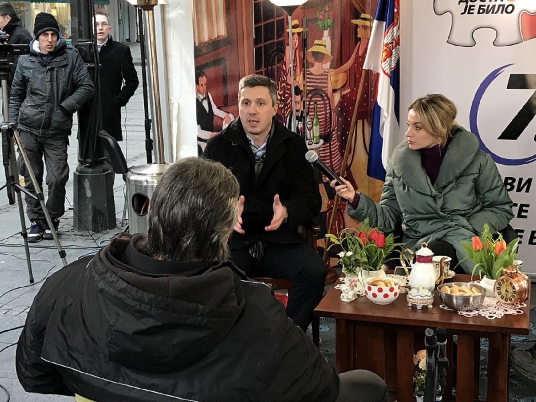 Boško Obradović: Jedino je naša koalicija potpisala da nema saradnje sa SNS