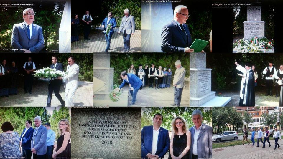 Zašto SNS u Kanjiži podiže spomenik austrougarskim okupatorima?