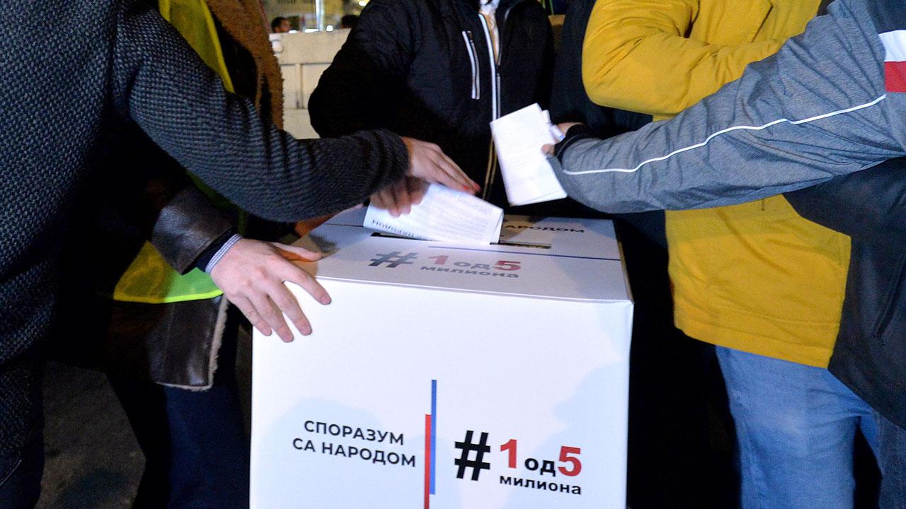 Potpisnici Sporazuma sa narodom jednoglasni: Ako režim ne ode, veliki skup u aprilu