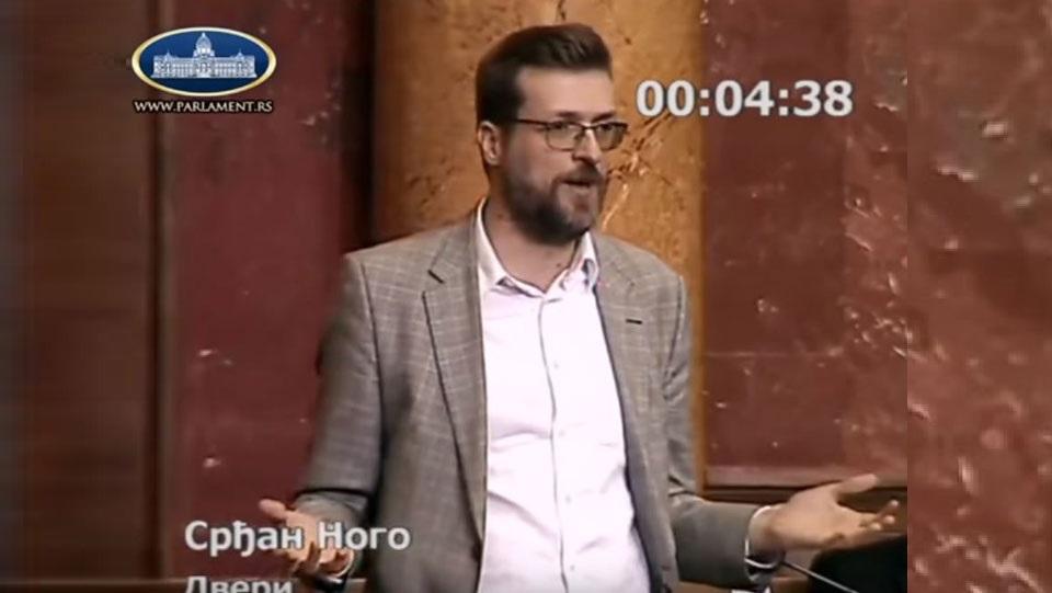 Srđan Nogo: Ukradena važna dokumenta iz Ministarstva odbrane