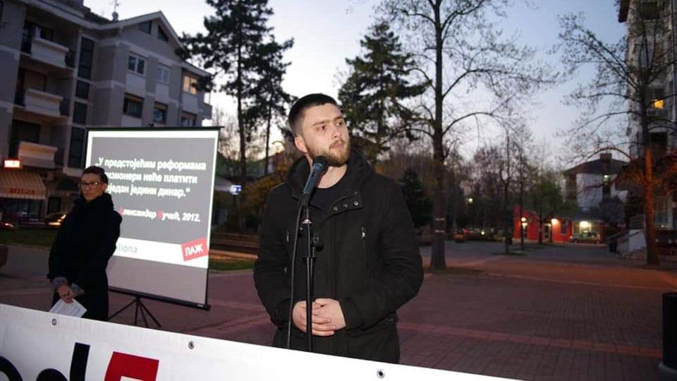 Stefan Aksović u Bačkoj Palanci: Naš ideal je ideal slobode