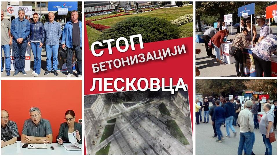 Stop betonizaciji Leskovca