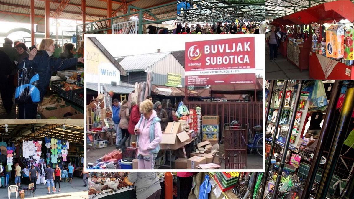 Dveri: Subotička Tržnica pljačka trgovce