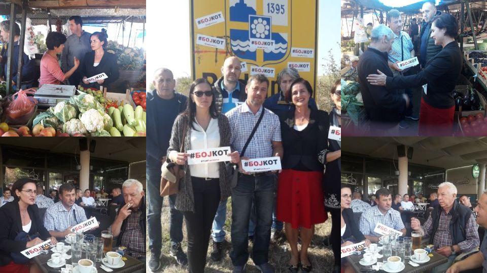 Тамара Миленковић Керковић из Прокупља: Бојкот је победа над страхом од власти