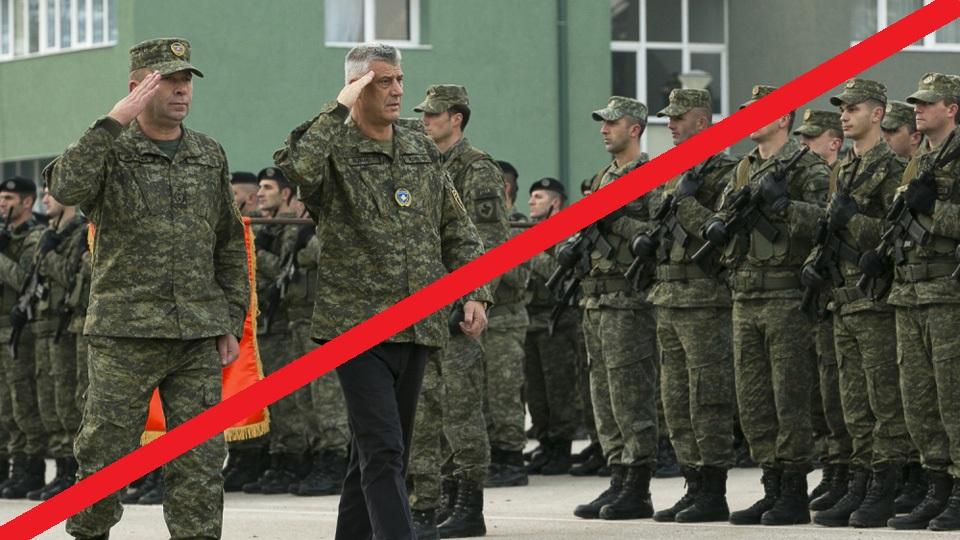 """Odluka"" ilegalne skupštine u Prištini o formiranju ilegalne vojske je za nas ništavna"