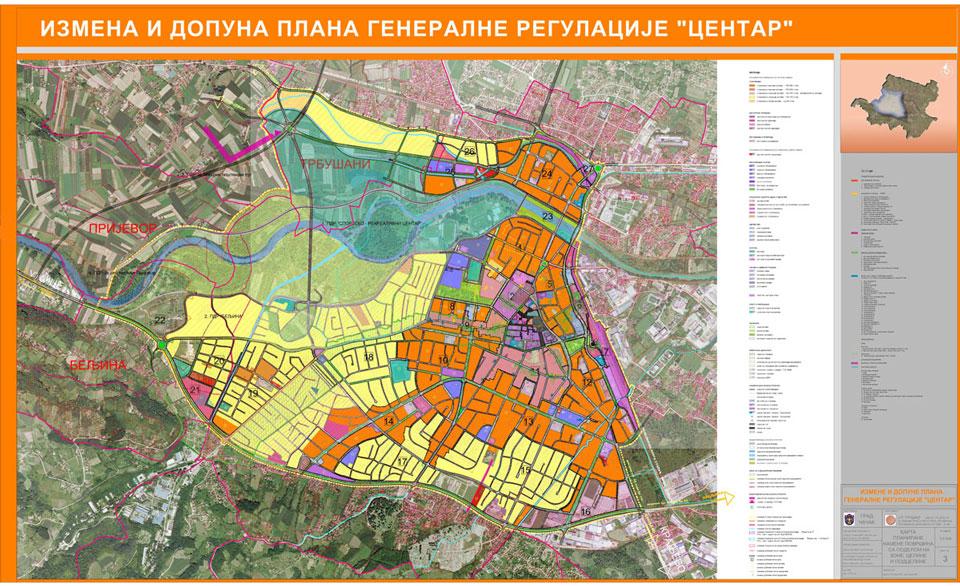 Čačak: Novi talas urbanističkog haosa u centru grada