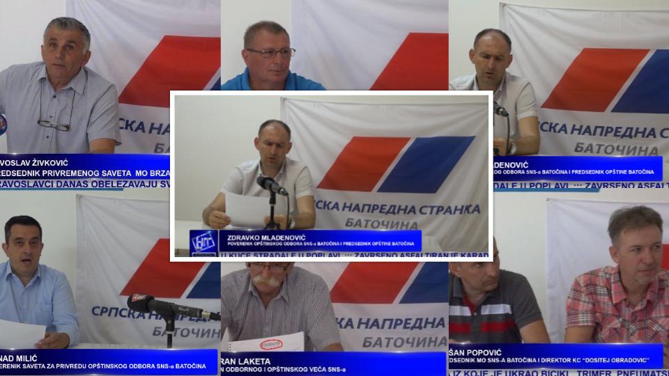 Srpska napredna stranka nastavlja sa uzurpacijom medija u Batočini