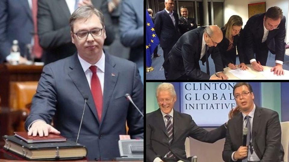 Aleksandre Vučiću, zašto lažeš da na Kosovu nema Srba i srpske zemlje?