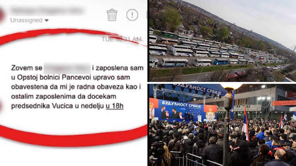Opozicija u petak vrši popis odsutnih sa radnog mesta u celoj Srbiji