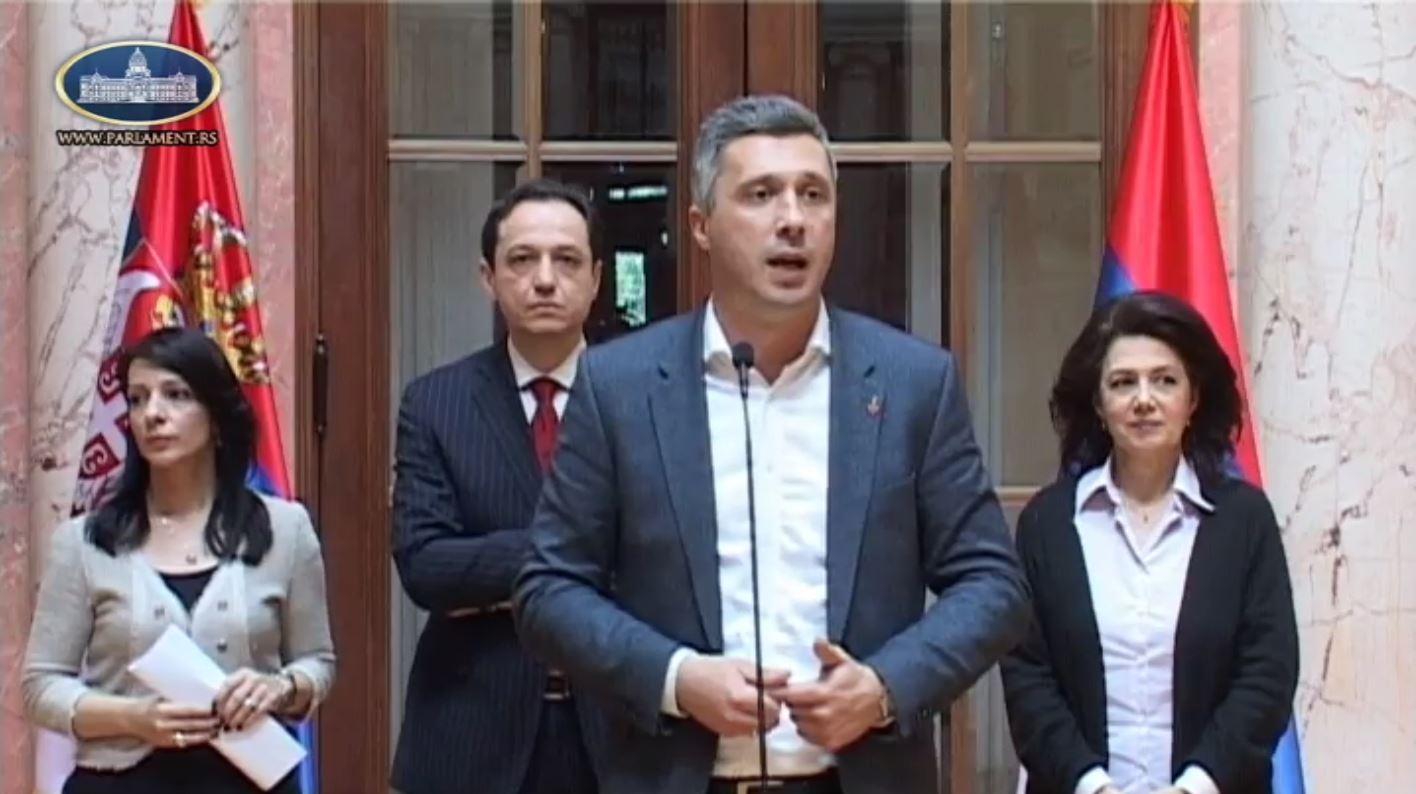 Boško Obradović: Posle 3 godine novog Saziva u Skupštini nikad gore