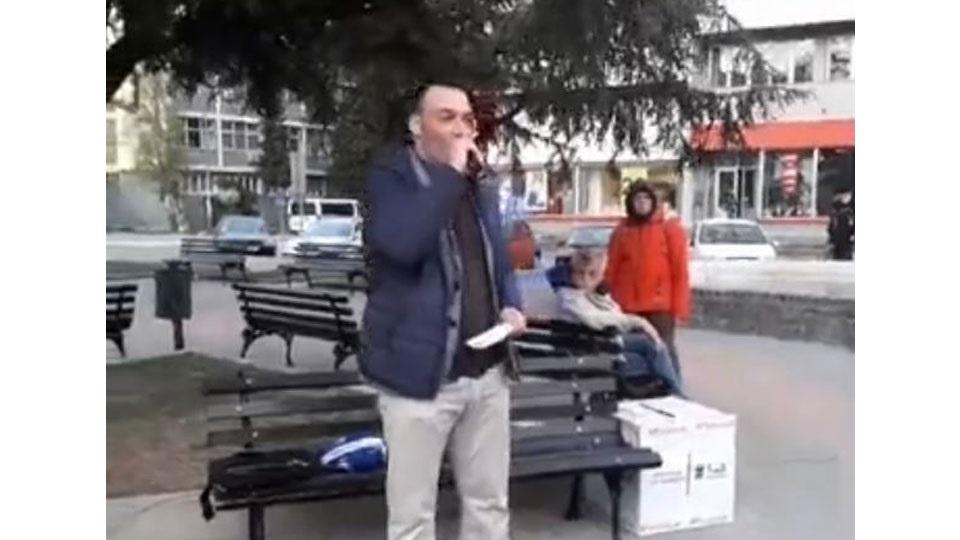 Borislav Žajski u Vršcu: na ulici ćemo tražiti pravdu, a slobodu u prkosu!