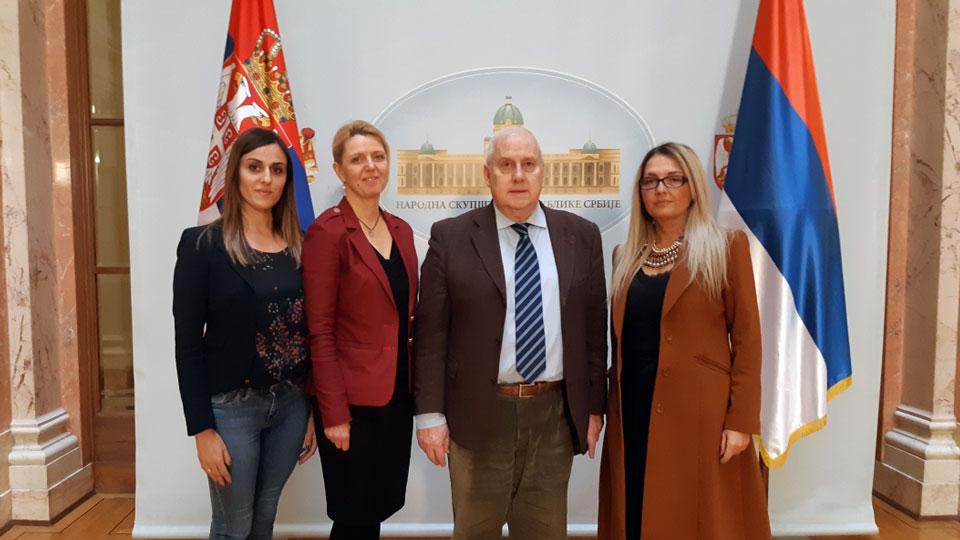 Žak Ogar posetio Poslaničku grupu Dveri