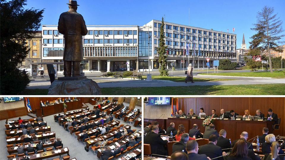 Novi Sad: Na dnevnom redu skupštine sporni spomenik i bankrotstvo Apoteke Novi Sad