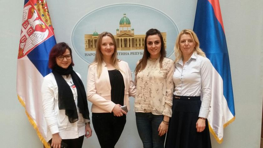 Ženska snaga Dveri u Ženskoj parlamentarnoj mreži