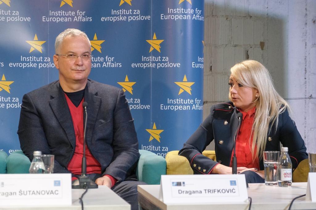 """Драгана Трифковић на ЕУ дебати """"Колико су грађани безбедни?"""""""