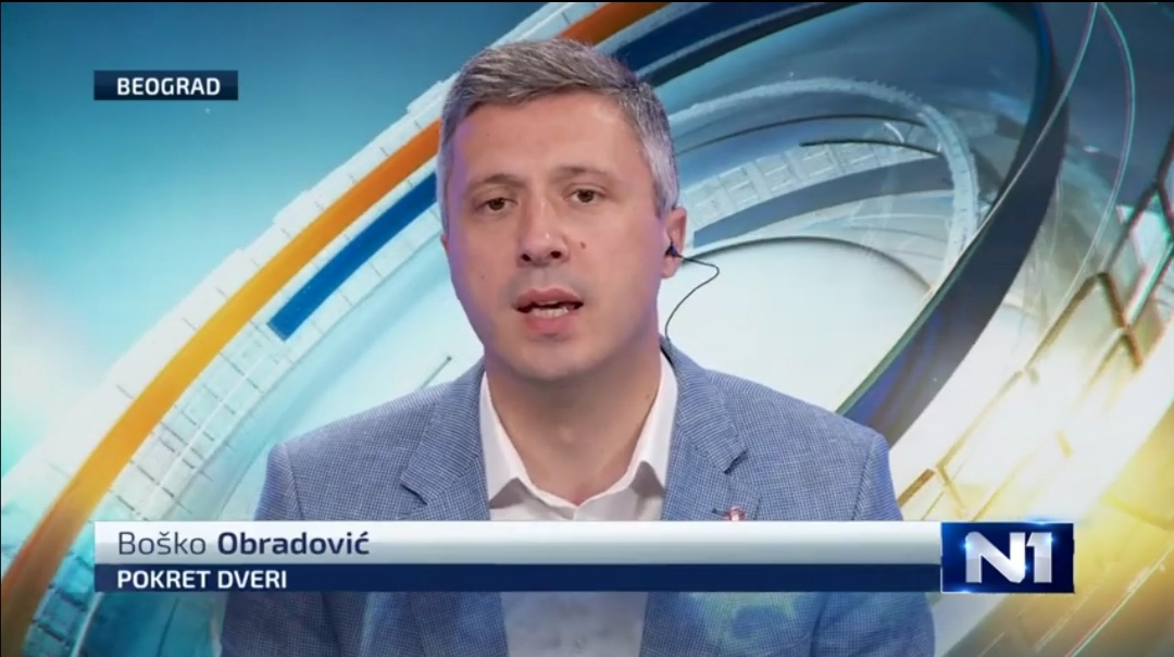 Бошко Обрадовић: Предлажем прелазну Владу као заједнички захтев свих демонстраната